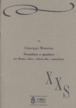 Sonatina a quattro - flauto oboe violoncello piano - laflutedepan.com