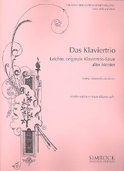 Das Klaviertrio - Leichte, originale Trio-Sätze alter Meister - laflutedepan.com