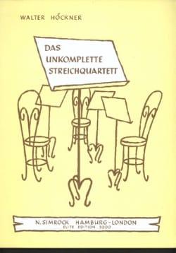 String Quartet Starts Rehearsing - Incomplete Str. qu. - laflutedepan.com