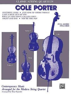 Classics - Cole Porter - Partition - Quatuors - laflutedepan.com