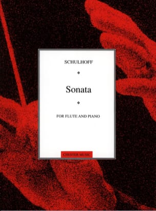Erwin Schulhoff - Flute Sonata - Sheet Music - di-arezzo.co.uk