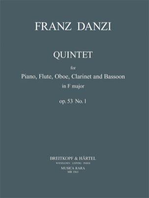 Quintet in F major op. 53 n° 1 -Piano flute oboe clarinet bassoon laflutedepan