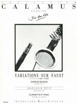 Variations sur Faust Petit Jean-Louis / Gounod Charles laflutedepan