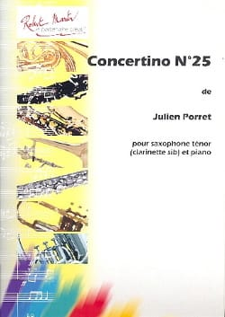 Julien Porret - Concertino n° 25 - Partition - di-arezzo.fr