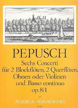 6 Concerti op. 8 : Nr. 1 -2 Blockflöten 2 Flöten u. BC - laflutedepan.com