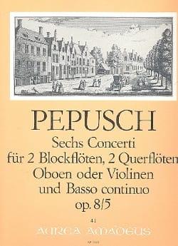 6 Concerti op. 8 : Nr. 5 -2 Blockflöten 2 Flöten u. BC laflutedepan