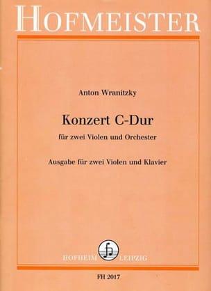 Anton Wranitzky - Concierto en Do mayor - Partitura - di-arezzo.es