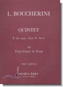 Quintet E flat major op. 21 n° 6 Parts - Flute oboe strings laflutedepan