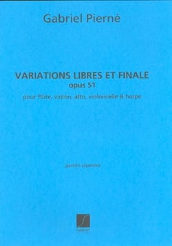 Gabriel Pierné - Free Variations and Final op. 51 - Sheet Music - di-arezzo.co.uk