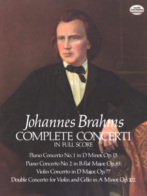 BRAHMS - Complete Concerti - Full Score - Sheet Music - di-arezzo.co.uk
