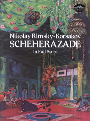 Nicolaï Rimsky-Korsakov - Sheherazade - Full Score - Sheet Music - di-arezzo.co.uk