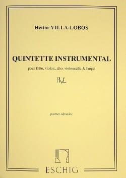 Heitor Villa-Lobos - Quintette Instrumental – Parties - Partition - di-arezzo.fr