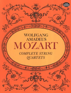 MOZART - Complete String Quartets - Full Score - Sheet Music - di-arezzo.co.uk