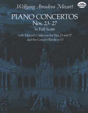 Wolfgang Amadeus Mozart - Piano Concertos N°23-27 / Full Score - Partition - di-arezzo.fr