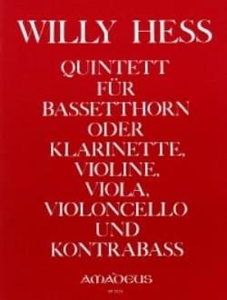 Quintett op. 95 – Partitur + Stimmen - Willy Hess - laflutedepan.com