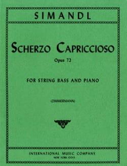 Scherzo Capriccioso op. 72 - Franz Simandl - laflutedepan.com