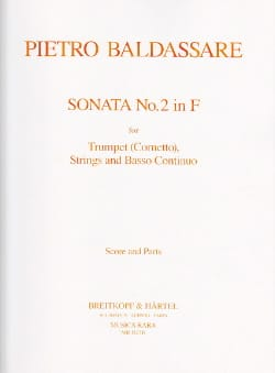 Sonata n° 2 in F - Trumpet Cornetto Strings - Score + parts - laflutedepan.com