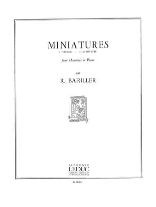 Bariller - Miniatures - Partition - di-arezzo.fr