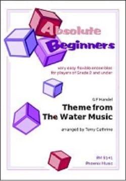 Theme from The Water Music HAENDEL Partition ENSEMBLES - laflutedepan
