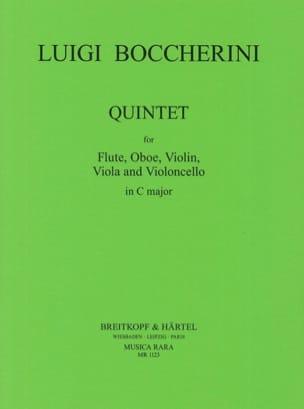 Quintette In C Do M. - Flûte-Hautbois-Violon-Alto-Cello laflutedepan