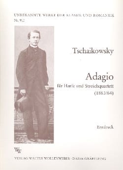 Adagio für Harfe u. Streichquartett TCHAIKOVSKY laflutedepan