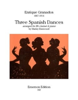Enrique Granados - Three Spanish Dances - Sheet Music - di-arezzo.com
