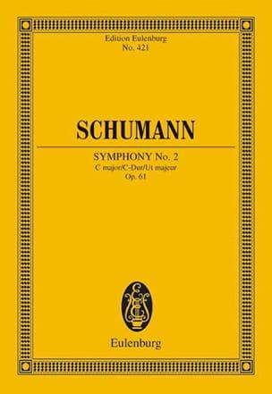 Sinfonie Nr. 2 C-Dur SCHUMANN Partition Petit format - laflutedepan