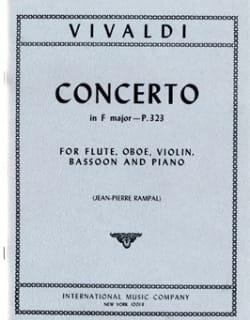 Concerto in F major P. 323 – Flute oboe violin bassoon piano - laflutedepan.com