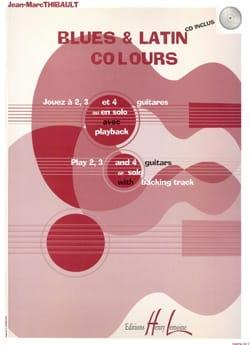 Blues & Latin Colours Jean-Marc Thibault Partition laflutedepan