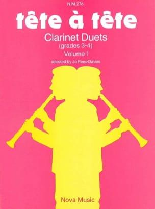 Tête à Tête - Volume 1 – Clarinet Duets - laflutedepan.com