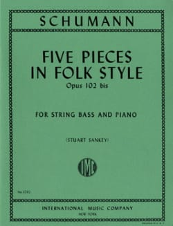 SCHUMANN - 5 Pieces in Folk Style op. 102 bis - Sheet Music - di-arezzo.com