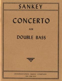 Concerto - Double bass Stuart Sankey Partition laflutedepan