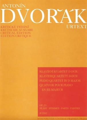 Klavierquartett D-Dur op. 23 –Parties instrumentales - laflutedepan.com