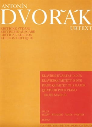 Klavierquartett D-Dur op. 23 -Parties instrumentales laflutedepan