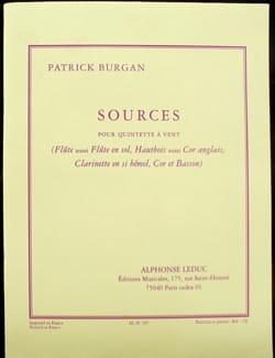 Patrick Burgan - Sources - Driver Parts - Sheet Music - di-arezzo.com