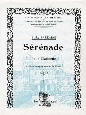 Elsa Barraine - Serenade - Sheet Music - di-arezzo.co.uk