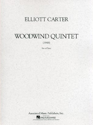 Elliott Carter - Woodwind Quintet - Partition - di-arezzo.fr