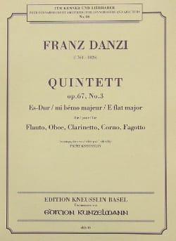 Quintett Es-Dur op. 67 Nr. 3 –Stimmen - laflutedepan.com