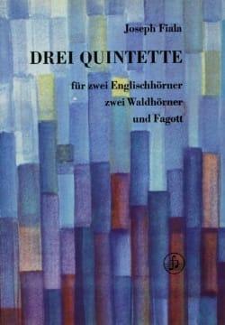 3 Quintette - 2 Englishhörner 2 Waldhörner Fagott - laflutedepan.com
