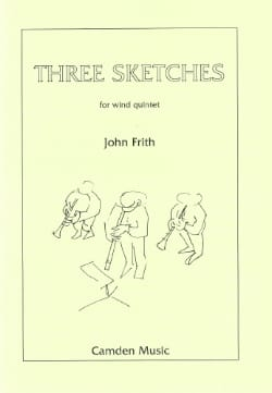 3 Sketches - Wood quintet - Score + parts - laflutedepan.com