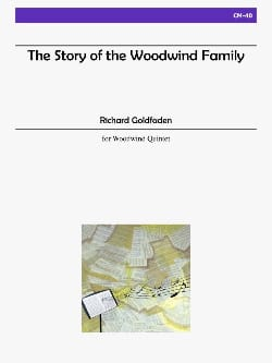 Richard Goldfaden - The story of the Woodwind Family - Partition - di-arezzo.fr