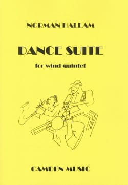 Norman Hallam - Dance Suite – Wind quintet - Score + parts - Partition - di-arezzo.fr