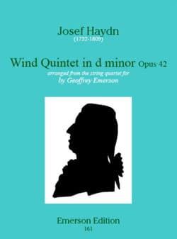 Wind quinet in d minor op. 42 – Stimmen - laflutedepan.com