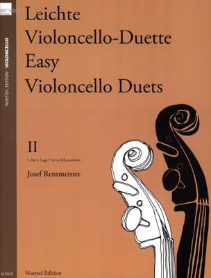 Josef Rentmeister - Leichte Violoncello Duette, Volume 2 - Partition - di-arezzo.fr