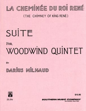 Darius Milhaud - The chimney of King René - Woodquintet - Score parts - Sheet Music - di-arezzo.co.uk