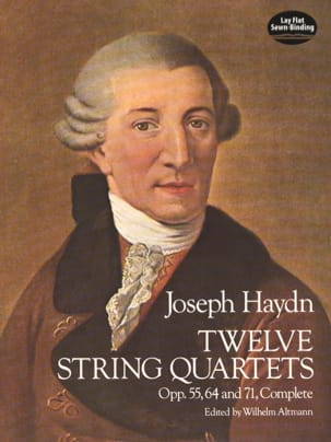 HAYDN - 12 String Quartets, Op. 55, 64, 71 - Partition - di-arezzo.fr