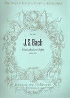 Johann Sebastian Bach - Musikalisches Opfer BWV 1079 - Conducteur - Partition - di-arezzo.fr