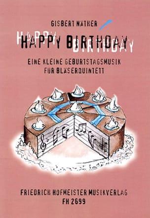 Happy Birthday – Bläserquintett - Partitur + Stimmen - laflutedepan.com