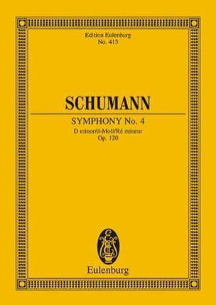 Sinfonie Nr. 4 d-Moll SCHUMANN Partition Petit format - laflutedepan