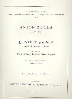 Bläserquintett op. 91 Nr. 6 c-moll -Stimmen - laflutedepan.com